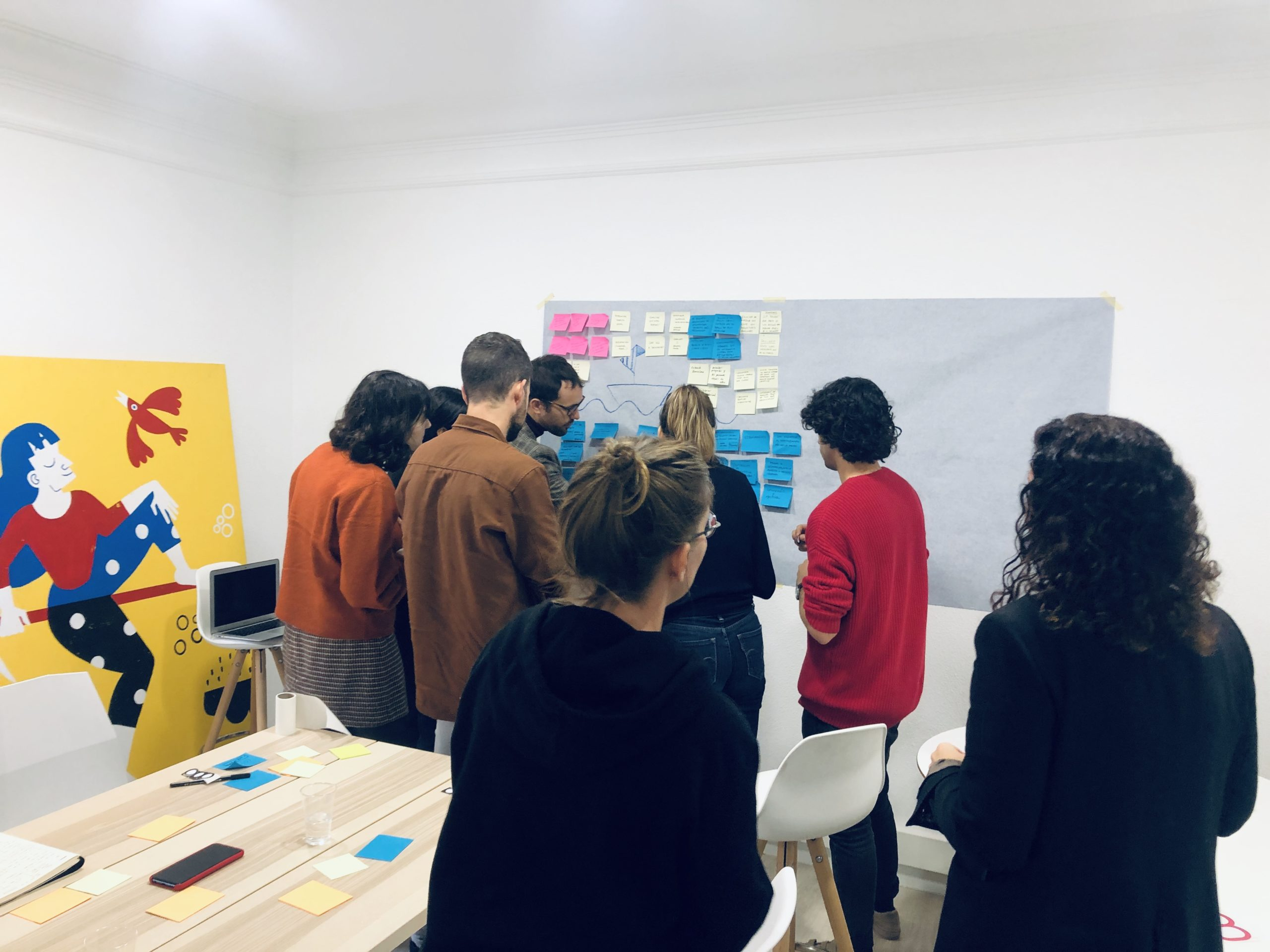Workshop for The Creative Net